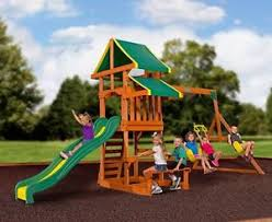 Backyard Playground Slides by Outdoor Playground Ebay