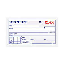 receipts at office depot officemax