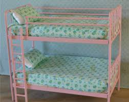 Bunk Bed For Dolls Doll Bunk Bed Etsy