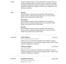 template resume word how to do resume format on word