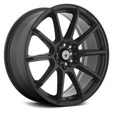 matte black konig control wheels matte black rims