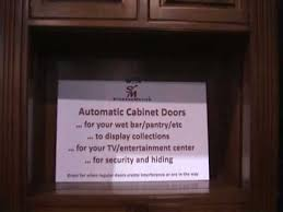 Motorized Cabinet Doors Automated Cabinet Doors Motorized Doors That Move Vertically