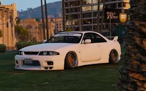 stanced nissan nissan gtr r33 stance tuning template gta5 mods com