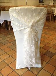 lace chair covers hire chair covers sashes and bows for weddiing and special events