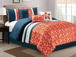 Colorful Queen Comforter Sets Palm Tree Comforter Bedding Set