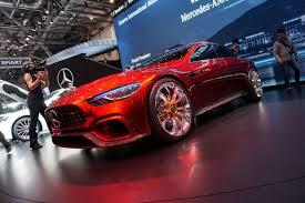 mercedes amg gt concept mercedes amg gt sedan concept debuts in geneva