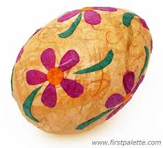 paper mache easter eggs papier mache easter eggs craft kids crafts firstpalette