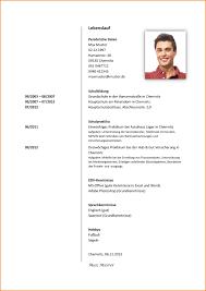 Lebenslauf Vorlage Excel Lebenslauf Muster Doc Starengineering