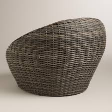all weather wicker formentera egg outdoor chair world market