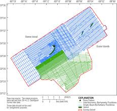 Green Line Map Archive Of Bathymetry And Backscatter Data Collected In 2014
