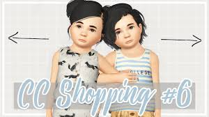 sims 3 hair custom content sims 3 custom content shopping 6 huge haul of toddler cc youtube