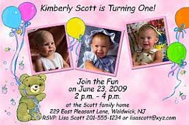 photo kids birthday invitations photo party invitations for your