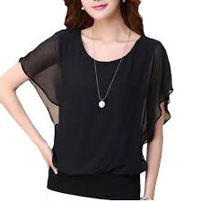 sleeve chiffon blouse 2018 s 3xl 2016 summer bat sleeve chiffon blouse casual