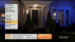 light garden solar 35 string lights w 120 leds page 1 qvc
