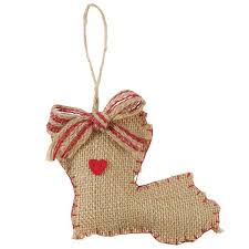 mud pie christmas ornaments burlap state of louisiana ornament with heart pin by mud pie