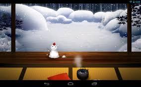 zen garden winter lw android apps on google play