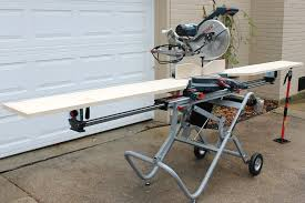 bosch gravity rise table saw stand modified bosch t4b gravity rise miter stand thisiscarpentry