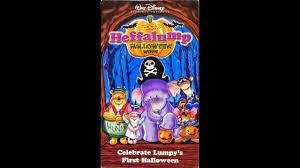 opening to pooh u0027s heffalump halloween movie 2005 vhs youtube