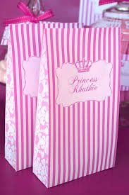 princess candy bags birthday party blogueluxe
