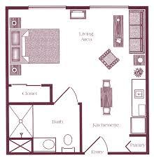 assisted living floorplans