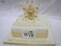 wedding cake anniversary golden wedding cake decorations wedding corners