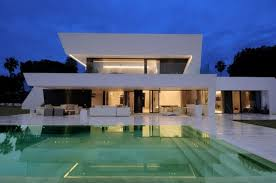 small luxury home designs white exterior color for luxury modern home design with modular