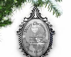 personalized remembrance ornaments memorial ornaments etsy