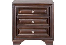 dark wood nightstands cherry espresso mahogany brown etc