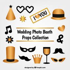 Photo Booth Accessories Download Vector Set Of Flat Accessories For Photo Booth