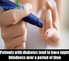 Diabetes Causing Blindness Night Blindness Causes Treatment Symptoms And Risk Factors