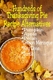 enjoy your traditional thanksgiving pie recipes in a