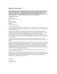 simple resume cover letters hdsimple letter application sample