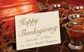 happy thanksgiving bargainistas