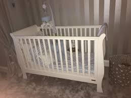 Orchard Sleigh Cot Toddler Bed White Mamas And Papas White Sleigh Cot Bed U2022 200 00 Picclick Uk