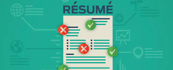 tips for spring cleaning your resume uw professional