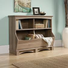 Sauder Harbor Bookcase Harbor View Bin Bookcase 420327 Sauder