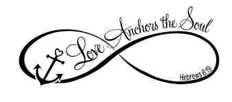 Quot Love Anchors The Soul - love anchors the soul wall art decal quote words lettering home