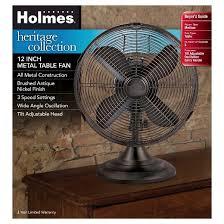6 Inch Oscillating Desk Fan Holmes Metal Table Fan Bronze Hdf1206 Btu Target