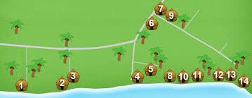 alona resort map alona my bohol guide