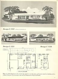 Tri Level Floor Plans Vintage House Plans 1960s Homes Mid Century Bright Floor Plan For