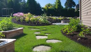 Backyard Stepping Stones by Tips And Ideas For Landscape Design In Your Own Backyard