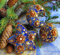 beautiful embroidered ornaments magic