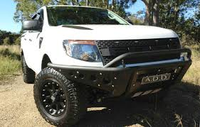 shop ford ranger t6 stealth front bumper at add offroad