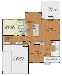 floor plans with walkout basement house plan at familyhomeplans com cottage plans with walkout