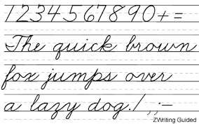how write cursive handwriting zaner bloser font set with 30 manuscript and cursive writing