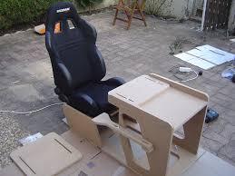 fabriquer un siege baquet racingfr fabriquer un cockpit en bois plan et photos