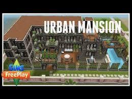 Mansion Design Urban Mansion Sims Freeplay House Designs Youtube
