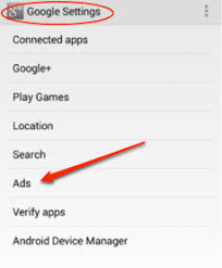 ad tracking android how to opt out of interested based ads behavioral advertising