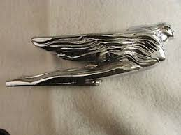 1941 cadillac flying goddess ornament trim chrome deco