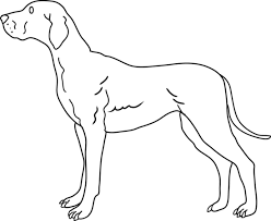 coloring page of a big dog dog coloring page free clip art sculpture pinterest clip art
